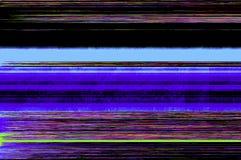 Kleurrijke glitch kunstachtergrond Royalty-vrije Stock Afbeeldingen