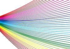 Kleurrijke golf Stock Afbeelding