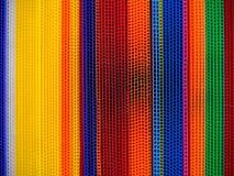 Kleurrijke golfpolypropyleenraad Stock Foto