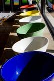 Kleurrijke gootstenen Stock Foto's