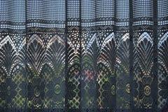 Kleurrijke gordijnschaduwen Royalty-vrije Stock Foto