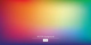 Kleurrijke Gradiënt Vectorachtergrond Royalty-vrije Stock Fotografie