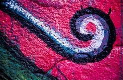 Kleurrijke graffiti stock fotografie