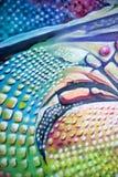 Kleurrijke graffiti royalty-vrije stock afbeeldingen