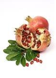 Kleurrijke granaatappel Stock Foto's