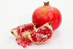 Kleurrijke granaatappels royalty-vrije stock fotografie