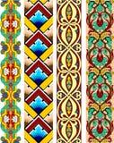 Kleurrijke grens Royalty-vrije Illustratie