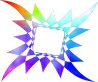 Kleurrijke grens Stock Afbeeldingen