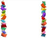 Kleurrijke grenzen Stock Foto's