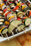 Kleurrijke grill shish Royalty-vrije Stock Afbeelding