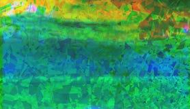Kleurrijke Groene Samenvatting Royalty-vrije Stock Fotografie