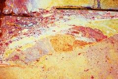 Kleurrijke grungeachtergrond en abstracte textuur Royalty-vrije Stock Afbeelding