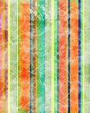 Kleurrijke grungestreep Stock Foto