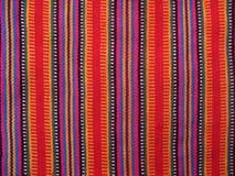 Kleurrijke Guatemalaanse Stoffen Royalty-vrije Stock Foto's