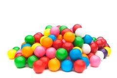 Kleurrijke gumballs Royalty-vrije Stock Afbeelding