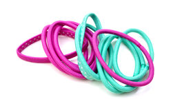 Kleurrijke haarbanden Stock Afbeeldingen