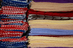 Kleurrijke handdoeken Royalty-vrije Stock Afbeelding