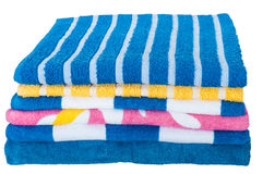 Kleurrijke Handdoeken Stock Foto's