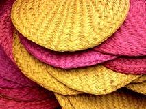 Kleurrijke handventilators Stock Afbeeldingen