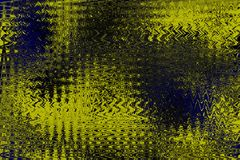 Kleurrijke harmonische geel-blauwe tinten abstracte achtergrond Royalty-vrije Stock Foto's