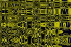 Kleurrijke harmonische geel-blauwe tinten abstracte achtergrond Stock Foto's