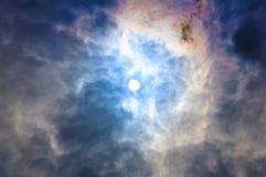 Kleurrijke hemel Royalty-vrije Stock Fotografie