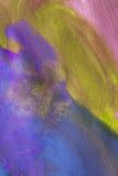 Kleurrijke het schilderen achtergrond Royalty-vrije Stock Foto's