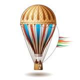 Kleurrijke hete luchtballon Royalty-vrije Stock Afbeelding