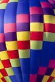 Kleurrijke Hete Luchtballon (close-up) Royalty-vrije Stock Afbeelding