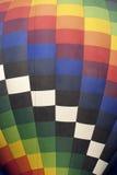 Kleurrijke Hete Luchtballon (close-up) Stock Afbeelding