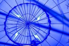Kleurrijke hete luchtballons bij festival Royalty-vrije Stock Fotografie