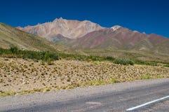 Kleurrijke heuvels Royalty-vrije Stock Afbeeldingen