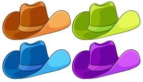 Kleurrijke hoofddeksels Royalty-vrije Stock Afbeeldingen