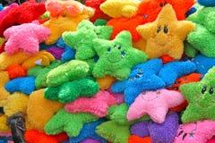 Kleurrijke hoofdkussens voor jonge geitjes Stock Afbeelding