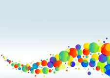 Kleurrijke horizontale achtergrond Stock Afbeeldingen