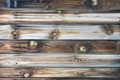 Kleurrijke Horizontale houten textuur met mooie natuurlijke patronen stock fotografie