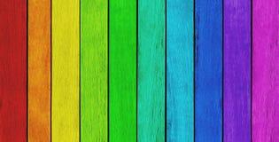 Kleurrijke Houten Achtergrond royalty-vrije stock foto