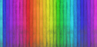 Kleurrijke houten achtergronden Stock Afbeelding