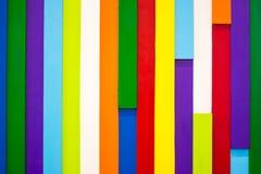 Kleurrijke houten muurachtergrond 10 Stock Foto