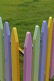 Kleurrijke Houten Samenstelling Royalty-vrije Stock Afbeelding