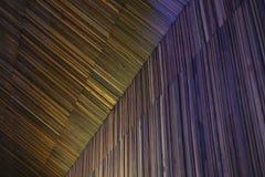 Kleurrijke houten textuur met natuurlijke patronen Stock Foto