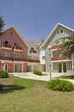 Kleurrijke huizen Royalty-vrije Stock Foto's