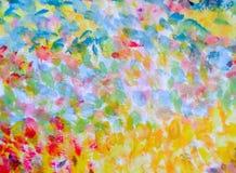 Kleurrijke Impressionistachtergrond Stock Afbeeldingen
