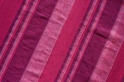 Kleurrijke Indische gestreepte materiële achtergrond Royalty-vrije Stock Afbeeldingen