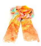Kleurrijke Indische verbonden sjaal geïsoleerd Royalty-vrije Stock Afbeeldingen