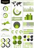 Kleurrijke infographic Royalty-vrije Stock Fotografie