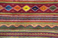 Kleurrijke inheemse Amerikaanse deken Royalty-vrije Stock Foto