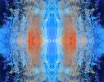 Kleurrijke inktachtergrond stock foto's
