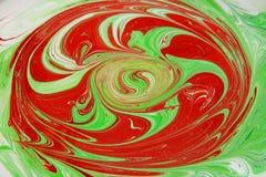 Kleurrijke inktachtergrond Stock Afbeeldingen