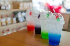Kleurrijke Italiaanse soda stock foto's